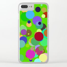 Circles #15 - 03202017 Clear iPhone Case