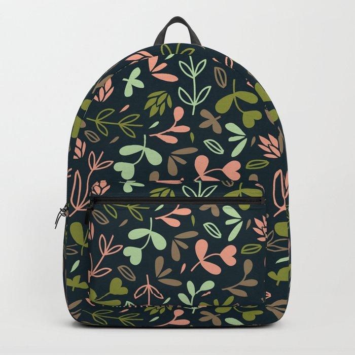 Colorful Lovely Pattern XVIV Backpack