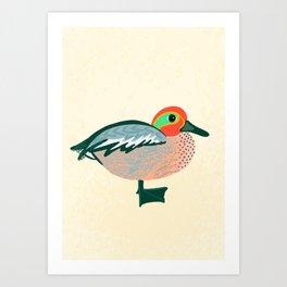 Pretty Duck Art Print