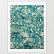 Wave Maker Art Print