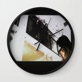 DropArt & Shirly @BYOB TelAviv Wall Clock