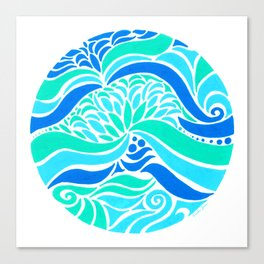 Makin Waves :: Color Therapy Collection :: Canvas Print