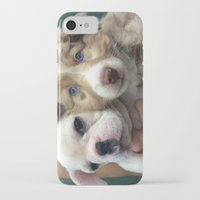 puppies iPhone & iPod Cases featuring Puppies by Camila Mariel