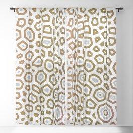 Experimental pattern 26 Sheer Curtain