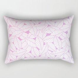 Leaves in Unicorn Rectangular Pillow