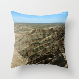 A Rugged Landscape Throw Pillow