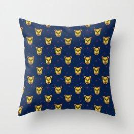 Cosmic Jaguar Throw Pillow