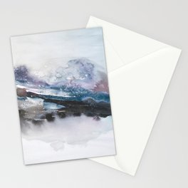 the beauty of impermanence II Stationery Cards