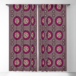 Central Asian Pattern Blackout Curtain