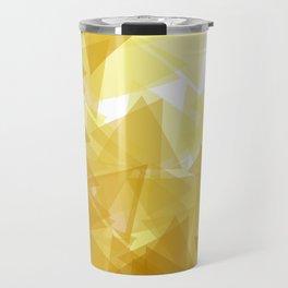Gold abstract Travel Mug