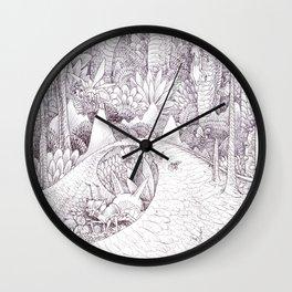 The habitat Wall Clock