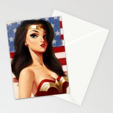 Wonder Woman Stationery Cards