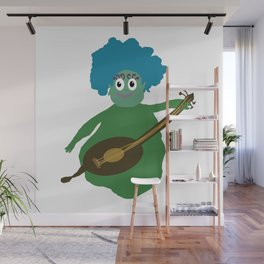 Musician From Another Dimension Wall Mural