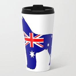 Australian Flag - Schnauzer Travel Mug