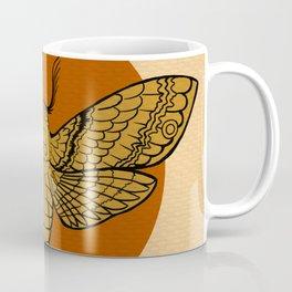 Vintage Death Head Moth Coffee Mug