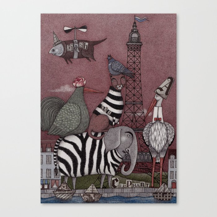 Animal Convention Canvas Print