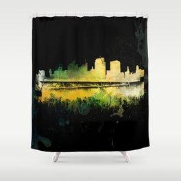 Prison City Shower Curtain