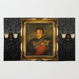 Sylvester Stallone - replaceface Rug