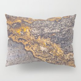 Gold Inlay Marble II Pillow Sham