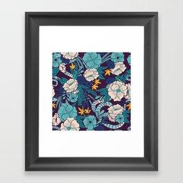 Jungle Pattern 003 Framed Art Print