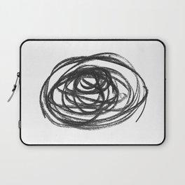 Scribble Circle Laptop Sleeve