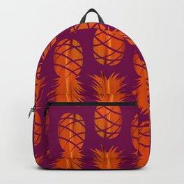 Pop Art Pineapple Pattern II Backpack