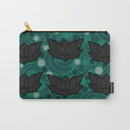 Serenity Lotus Carry-All Pouch