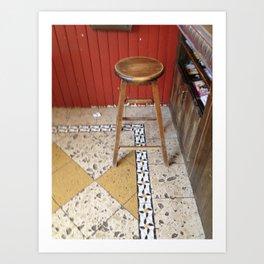 stool Art Print