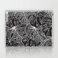 B&W Philodendron Laptop & iPad Skin