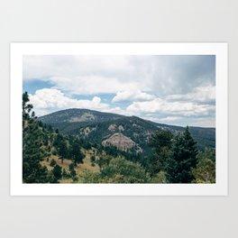 Switzerland Trail Art Print