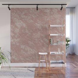 Soft rose gold velvet Wall Mural