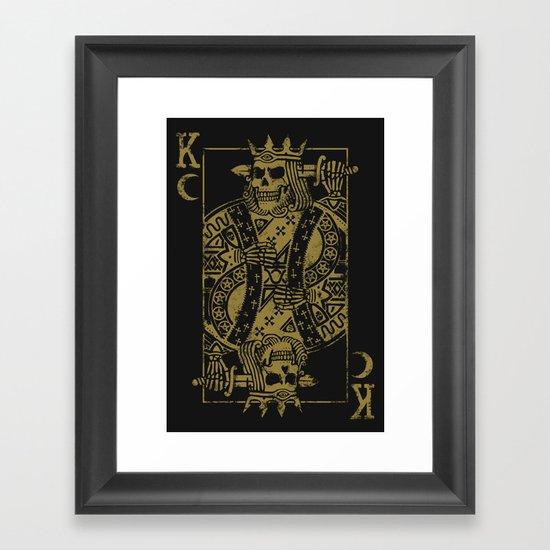 Suicide King Framed Art Print