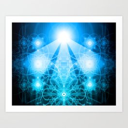 Divine Light Art Print