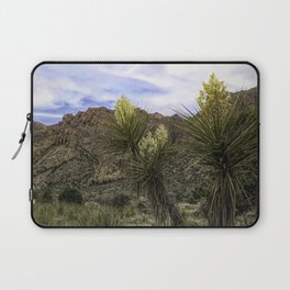 Desert Yucca and Mountains Laptop Sleeve