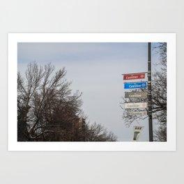 Rue Cuvillier Art Print