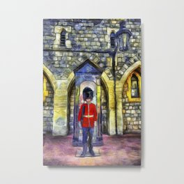 Coldstream Guard Art Metal Print