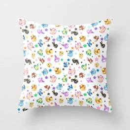 Cuties In The Stars Throw Pillow