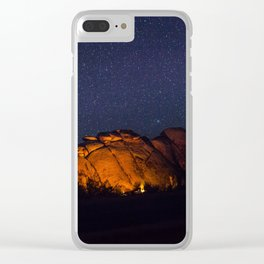 Outback Camping Clear iPhone Case