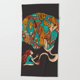 Pandora's Box Beach Towel