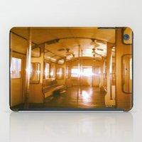train iPad Cases featuring Train  by Raquel Belloch