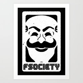 FSociety Art Print