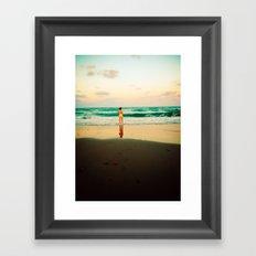 End of Summer Nostalgia IV Framed Art Print