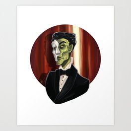 Erik, Opera Ghost Art Print