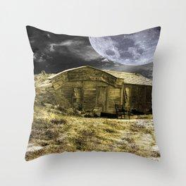 Prairie Life Digital Throw Pillow