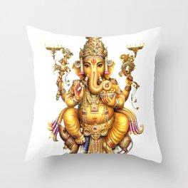 Ganesha - Hindu Throw Pillow