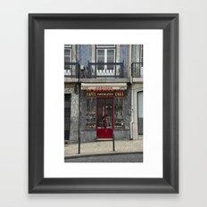 Cafe Carioca Framed Art Print
