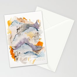 marmalade mountains Stationery Cards