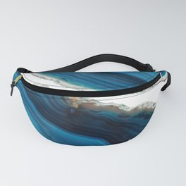 Blue Agate Fanny Pack