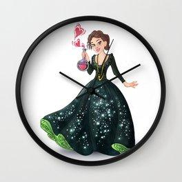 Princess Marie Curie (Trumble Cartoon) Wall Clock