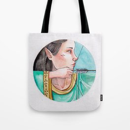 archery princess Tote Bag